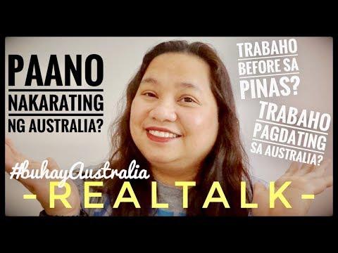Paano Nakarating Ng Australia I Trabaho Sa AUSTRALIA At PINAS I BUHAY AUSTRALIA