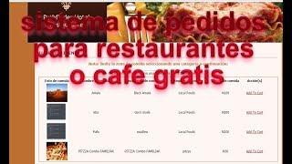 sistema de pedidos para restaurantes gratis (software de restaurantes gratis español)
