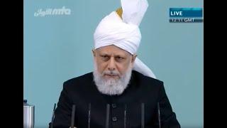 Cuma Hutbesi Türkçe tercümesi 20 Mayis 2011 - Islam Ahmadiyya