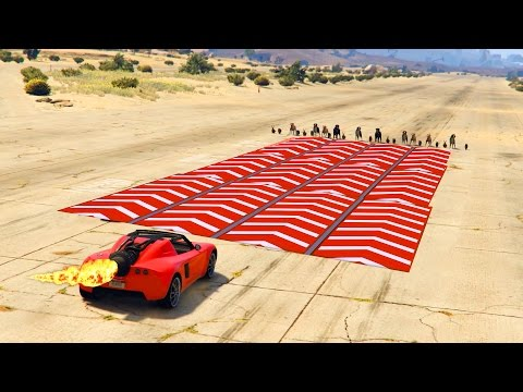 GTA 5 - ROCKET CAR VS SPEED NERFS! (GTA 5 Rocket Voltic Test)