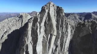 Lone Peak Summit Aerial Footage - Oct 24, 2015