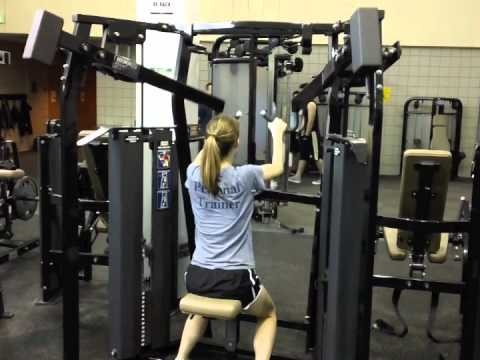 Crc How To Use The Hammer Strength High Row