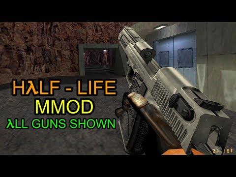 (NEW GUNS) Half-Life: Mmod - All Guns Shown