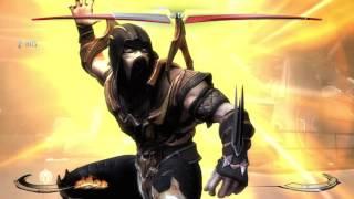 Injustice Scorpion vs Catwoman