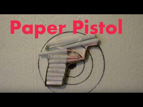 How to Make a Simple Airsoft Gun -Рaper gun