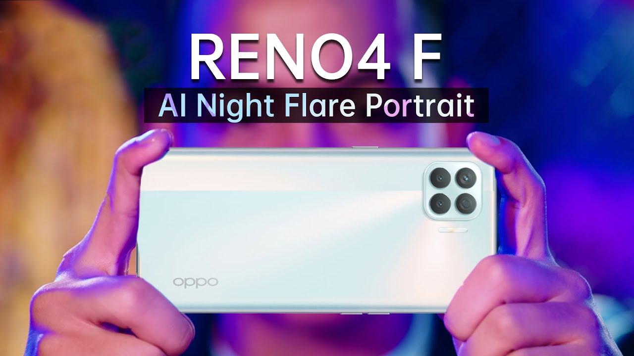 OPPO Reno4 F | AI Night Flare Portrait