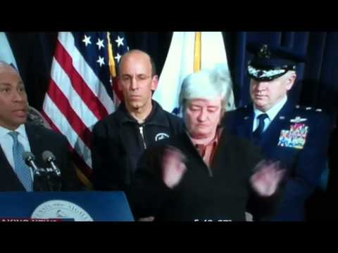 Sign Language lady for Deval Patrick