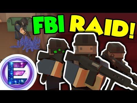 FBI law enforcement - Crips Gang bust - FBI Raid - Growing mass amount of berries - Unturned RP