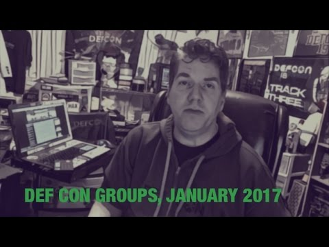 DEF CON Groups - Jayson E. Street - New Year's DCG Update