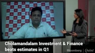 Cholamandalam Investment's Q1 profit jumped 25%