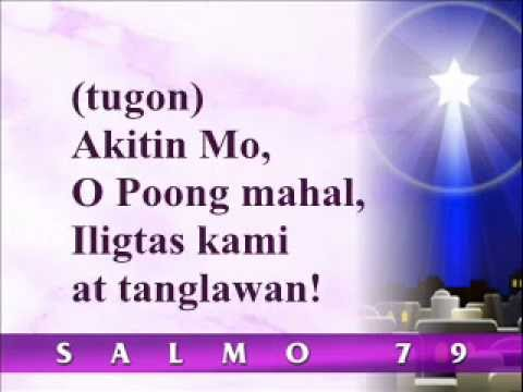 Conrad Mananes  Salmo 80 1st Sunday of Advent Psalm 79 in the Tagalog Missal