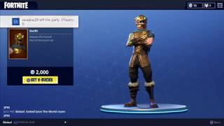 Battle Hound Skin & Silver Fang Axe! (Fortnite Daily Store Update 3-17-18)