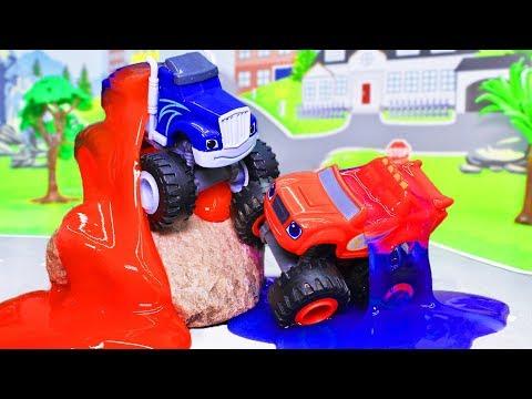 Вспыш и чудо машинки все серии подряд! Лучшие мультики с игрушками в одном видео для детей