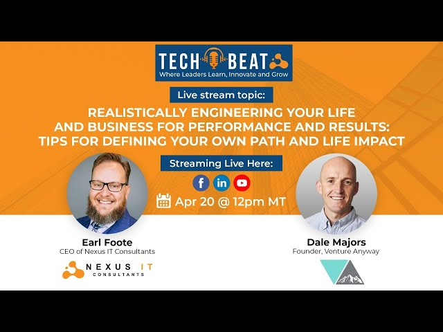 Realistically Engineering Your Life and Business for Performance & Results