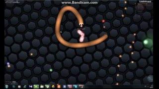 Червячки новая игра slither.io  смотреть в 3D