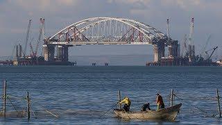Строительство Керченского моста: расследование экологов | Радио Крым.Реалии
