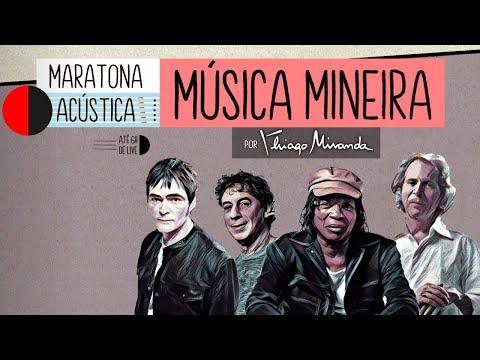 Live Maratona Acústica COMPOSITORES DE MINAS por Thiago Miranda! Milton Nascimento, Beto, Lô e mais!