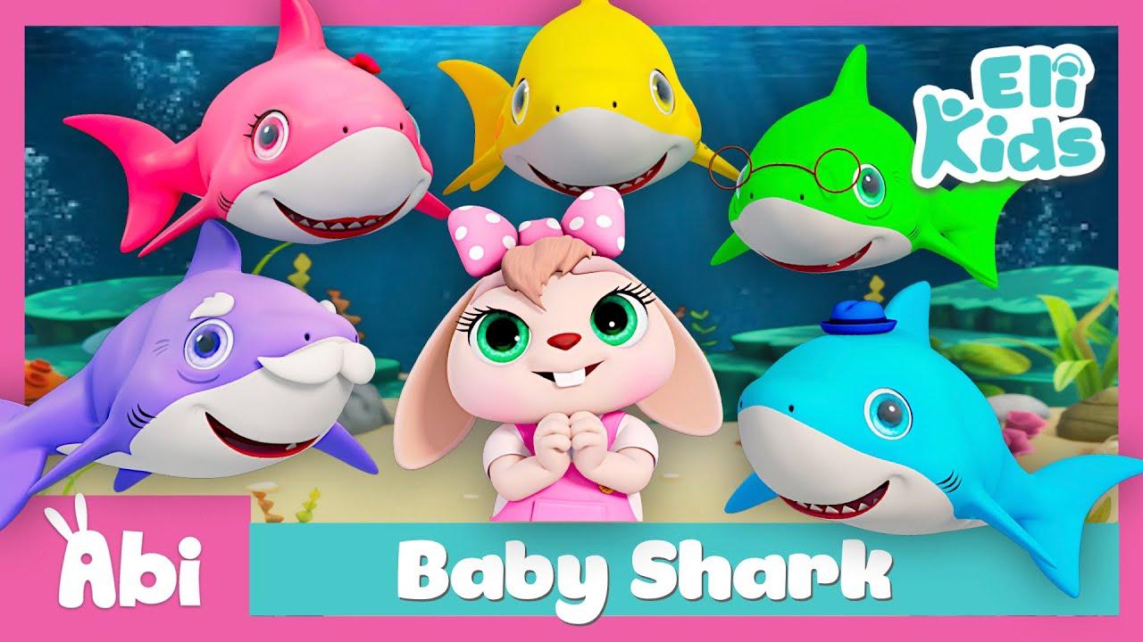 Baby Shark +More Baby Dances   Eli Kids Educational Songs & Nursery Rhymes