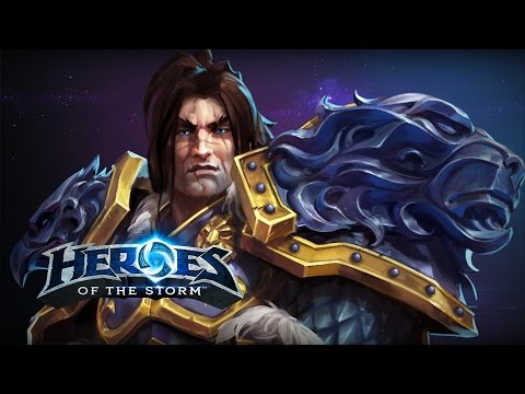 "♥ Heroes of the Storm - Varian ""MULTICLASS"" (HotS Gameplay)"