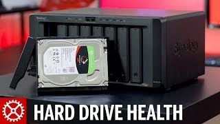 Hard Drive Health Management with Synology DiskStation NAS feat DS1815+