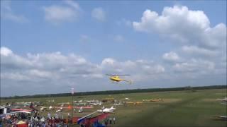 Пилотаж вертолета Robinson на XI Всероссийском слёте любителей авиации(На видео представлен пилотаж вертолета Robinson на XI Всероссийском слёте любителей авиации. Полет произведен..., 2016-12-28T17:07:14.000Z)