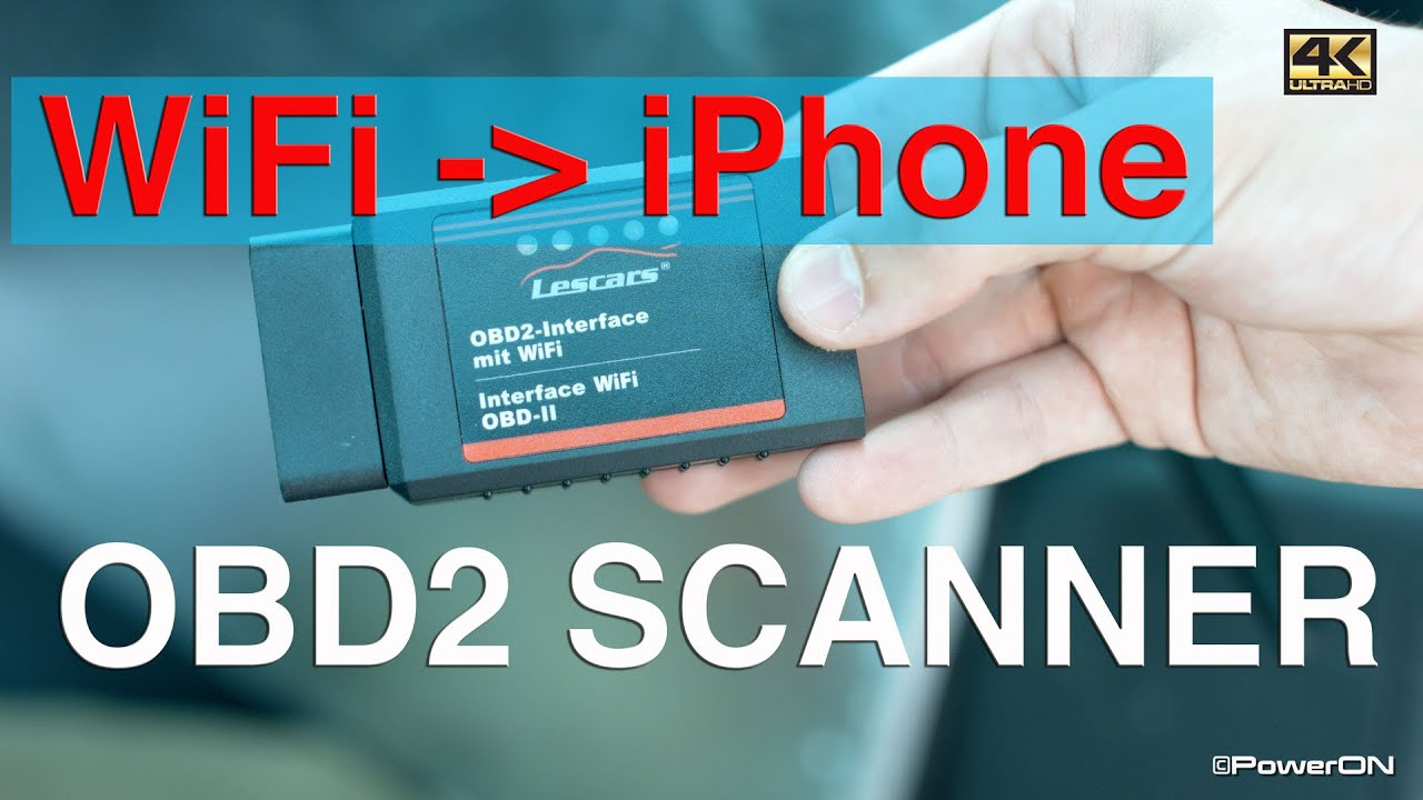 diy obd2 wifi scanner f r iphone ios app on board. Black Bedroom Furniture Sets. Home Design Ideas