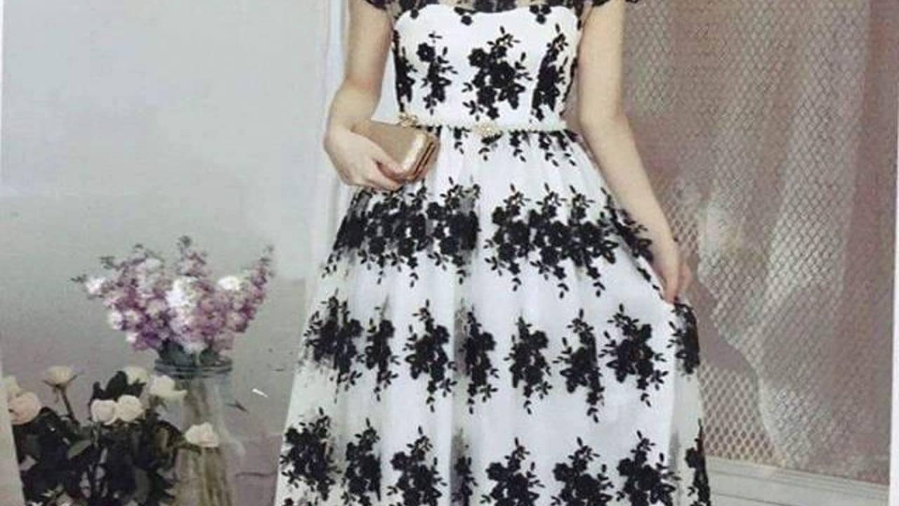 Pin 5e89d875 Dress Brokat Untuk Wanita Gemuk Youtube