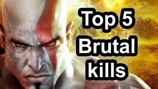 Top 5 - Brutal kills in God of War: Ascension