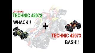 [루카스 레고] 테크닉 42072 /42073 콰쾅/퍼펑 WHACK and BASH
