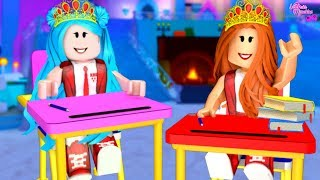 🏰 PRINCESSES STUDENT ROUTINE (Roblox-Royale High)