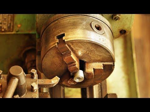 Изготовление втулки на токарном станке, Small Tube On Metal Lathe