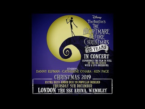 Nightmare Before Christmas Live In