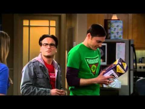 Penny gives Leonard and Sheldon Transporter Toys