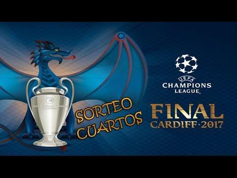 sorteo de cuartos champions league 2016 2017 sorteo