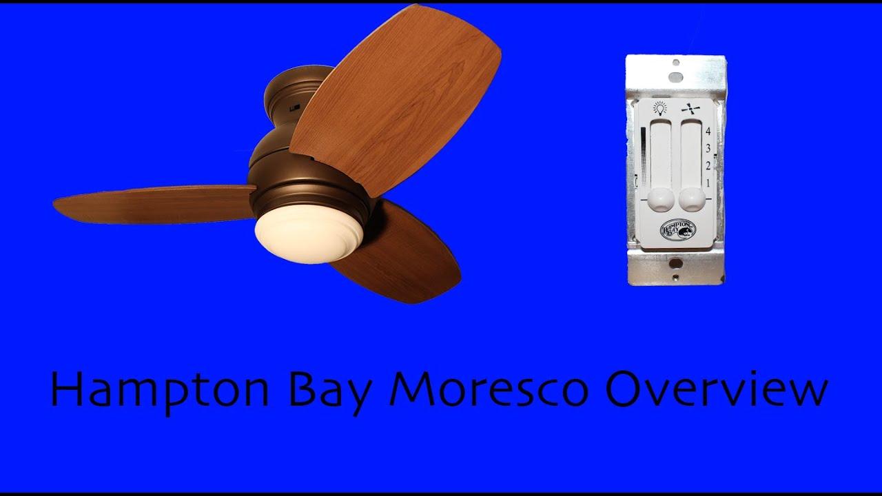 Hampton Bay Moresco Overview on