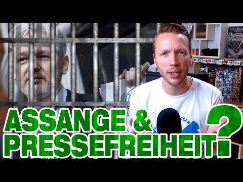 Julian Assange feiert Pressefreiheit im Knast!