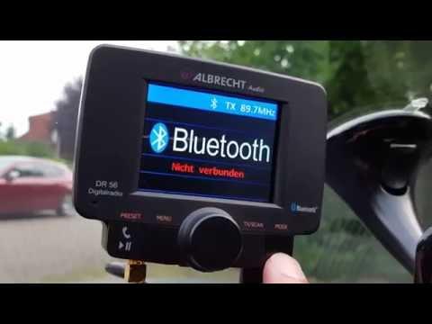 Albrecht DR 56 - DAB+ Empfänger - DAB Adapter Autoradio Kfz Bluetooth
