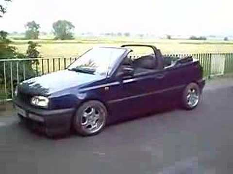 vw golf iii cabrio youtube. Black Bedroom Furniture Sets. Home Design Ideas