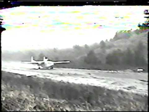 How close can you come to dying? Purposefully standing on the Runway! Alaska Flying Boxcar Take off,