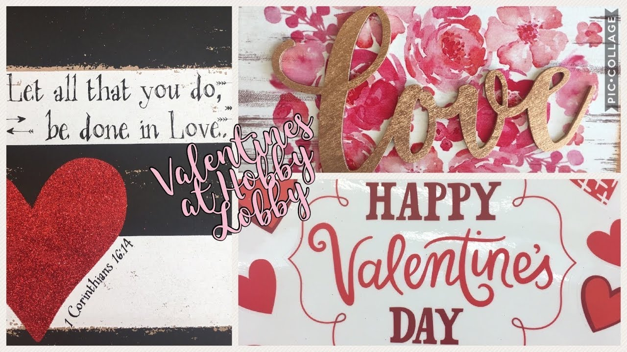 Hobby Lobby ~ Valentineu0027s Day ~ Shop With Me!