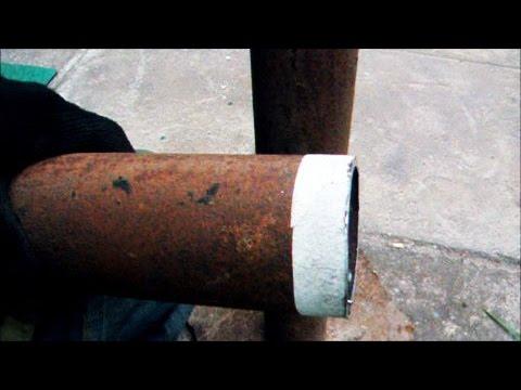 КАК РОВНО ОТРЕЗАТЬ ТРУБУ ЛЮБОГО ДИАМЕТРА.  As even cut the pipe of any diameter