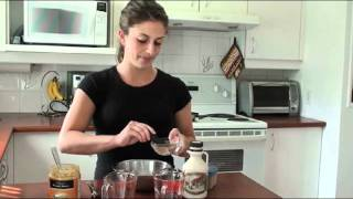 Peanut Butter & Oatmeal Pancakes