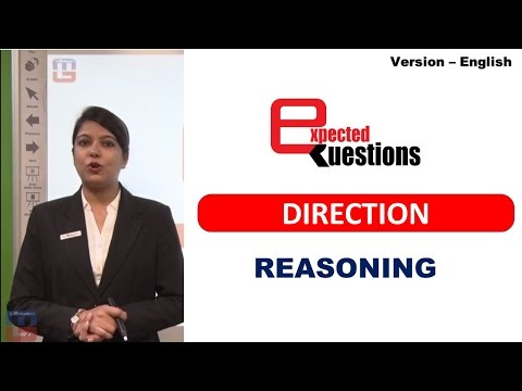 MOST EXPECTED QUESTIONS - DIRECTIONS - REASONING: ENGLISH VERSION