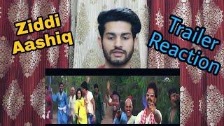 Ziddi Aashiq | Official Trailer | Reaction | Pawan Singh | Monalisa | Bhojpuri Movie
