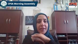 CPSA Morning Assembly 4-12-2021