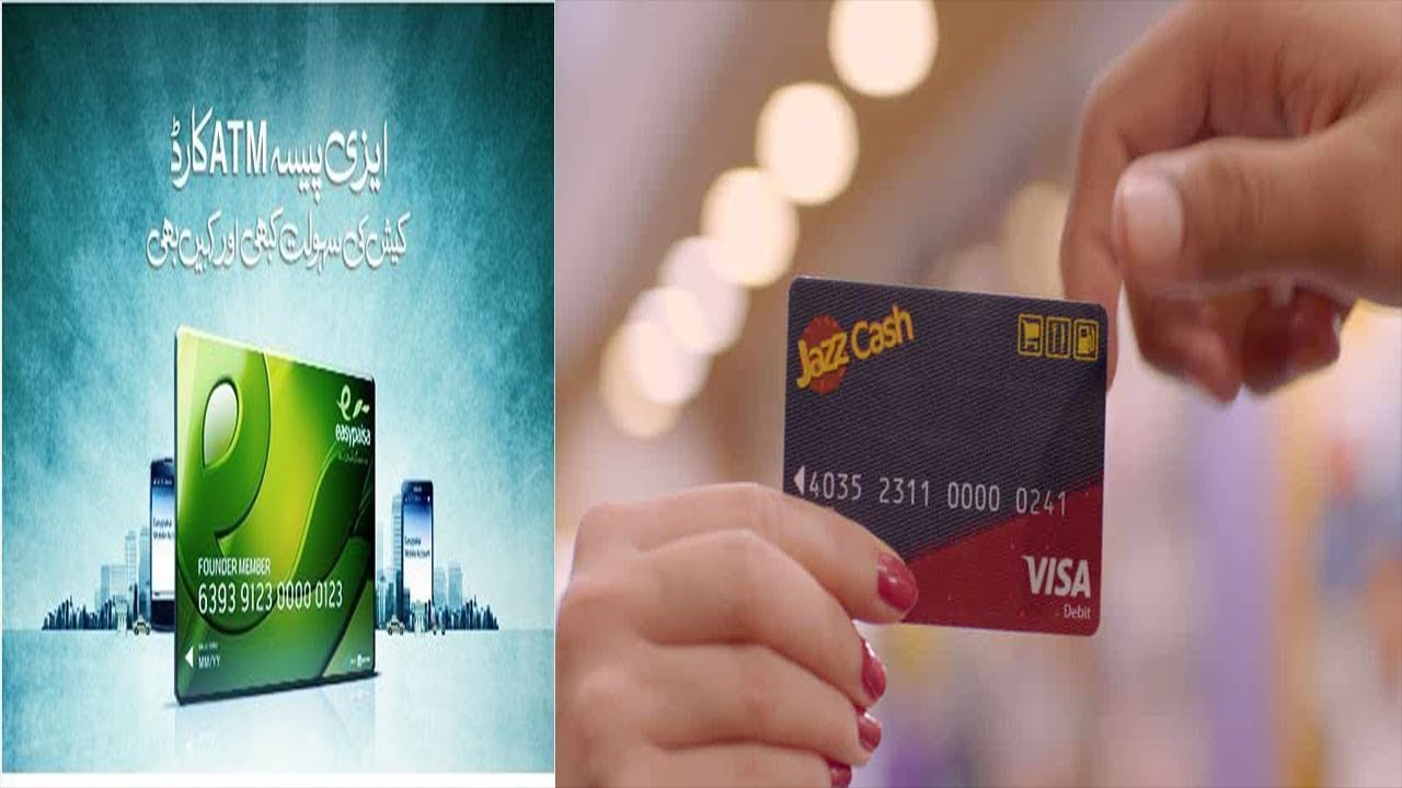 How to Get Jazzcash and Easypaisa ATM Card  Full Details
