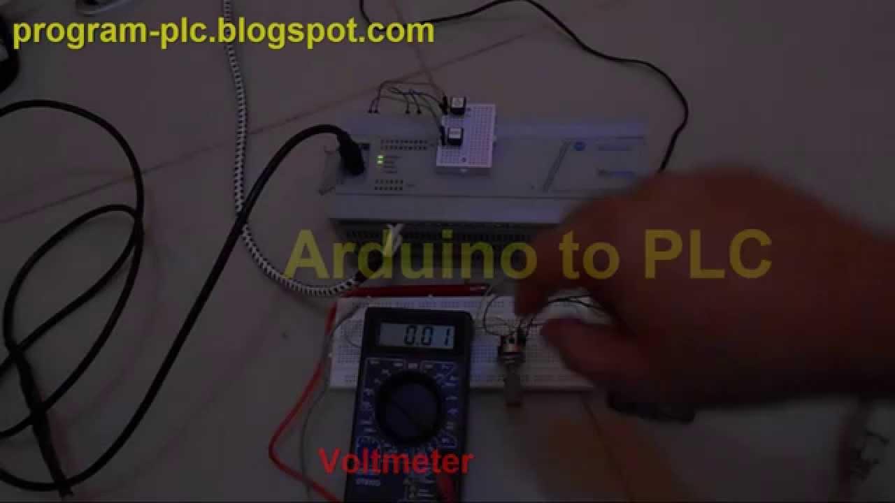 Allen Bradley DF1 communication between Micrologix 1000 and Arduino