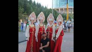 Dancing with russian girls in Folklorida2021