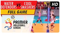 Water Defenders vs. Cool Smashers | Full Game | 2nd Set | PVL Reinforced Conference | June 3, 2017