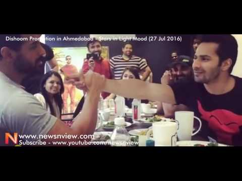 Dishoom Promotion In Ahmedabad   Varun Dhawan   John Abraham   Jacqueline Fernandez